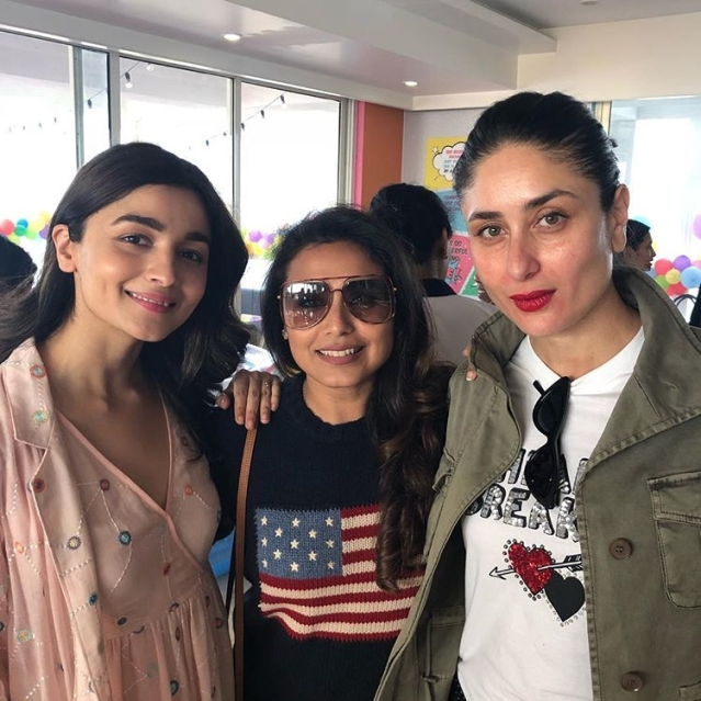 The divas: Alia Bhatt, Rani Mukherji & Kareena Kapoor