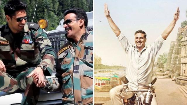 Manoj Bajpayee, Sidharth Malhotra from the sets of <i>Aiyaari</i>; Akshay Kumar in <i>PadMan.</i>