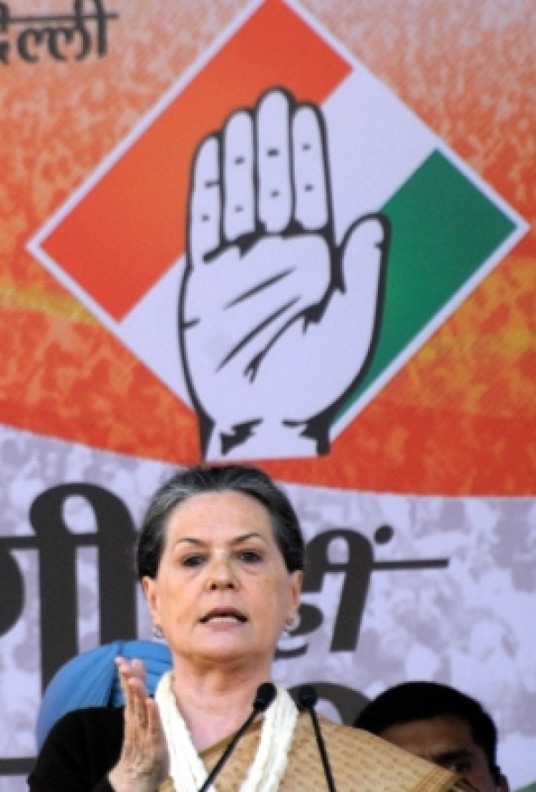 Congress chief Sonia Gandhi. (File Photo: IANS)