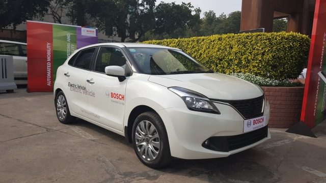 The Maruti Baleno with its light build and spacious interior makes for a good donor car.