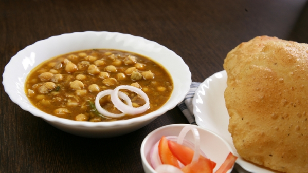 Bhatura Or...Scallion Bubble Pancake? Say What?