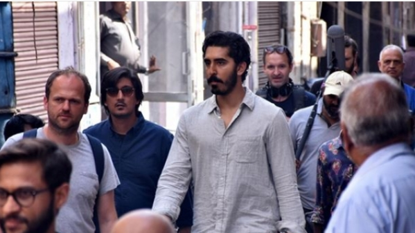Dev Patel shoots for <i>The Wedding Guest</i> in Jaipur.