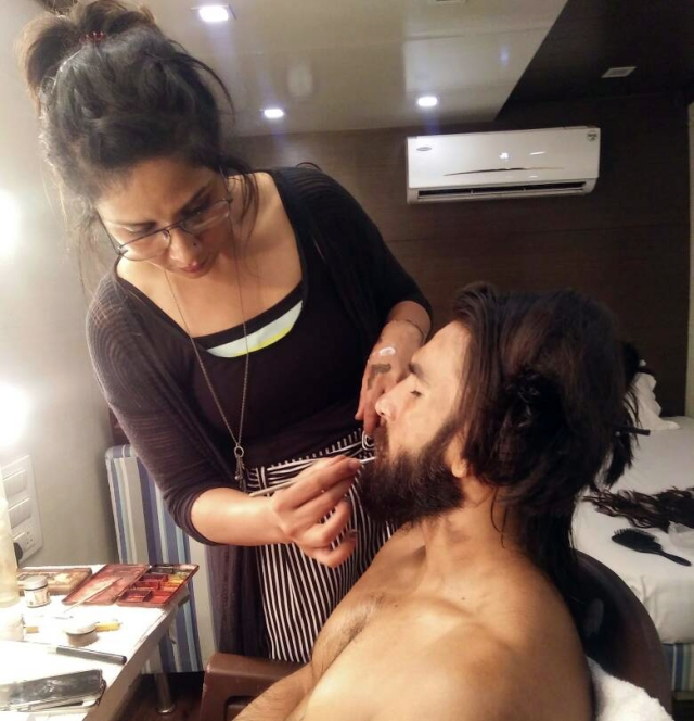 Preetisheel with Ranveer.