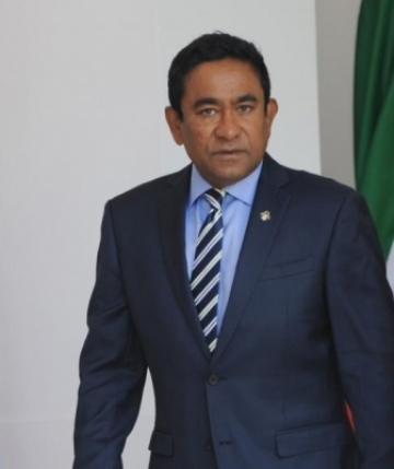 President of Maldives, Abdulla Yameen Abdul Gayoom. (File Photo: IANS)