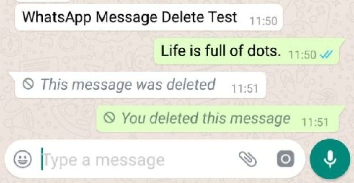 "WhatsApp screenshot of the recipient showing WhatsApp message in the quote window ""Dude work with me"" deleted"