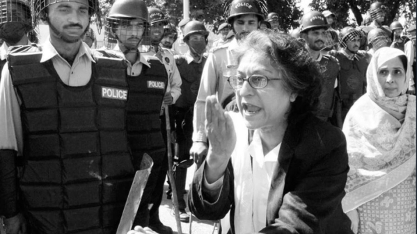 A file photo of Asma Jahangir.