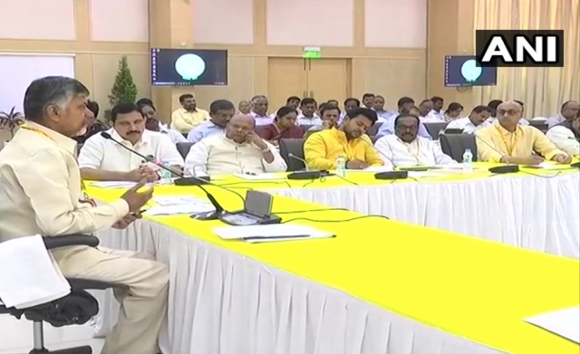 Visuals from the TDP meet.