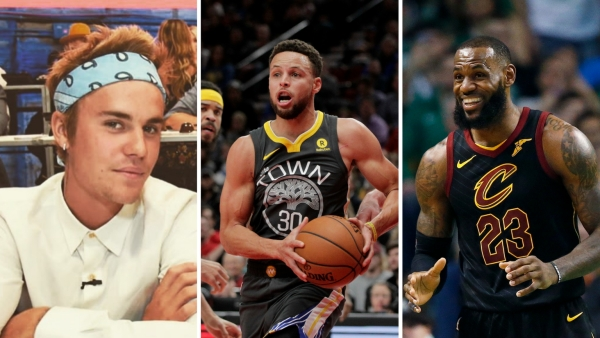 Justin Bieber, Steph Curry and LeBron James headline the NBA All-Star Weekend in LA.