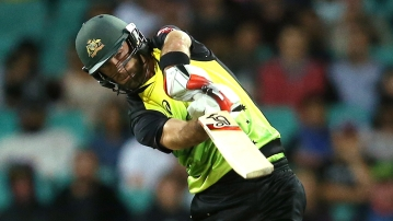 Glenn Maxwell in action.