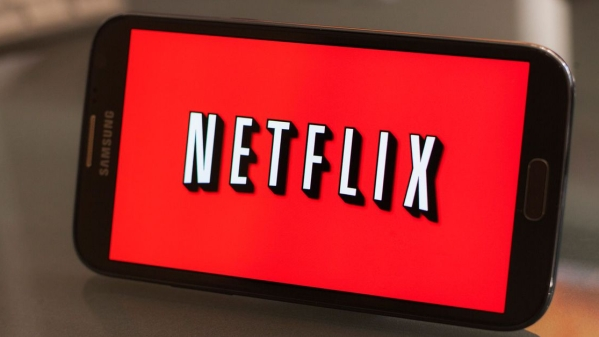 The online streaming service, Netflix.