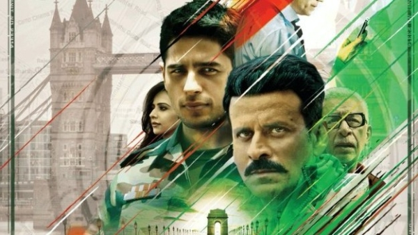 A poster of <i>Aiyaary</i>.