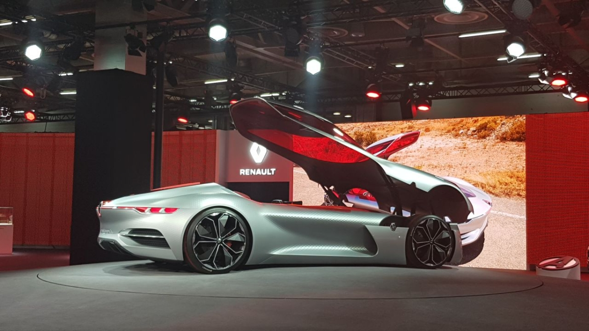 In Photos: Renault Brings in Bold Concepts at the 2018 Auto Expo
