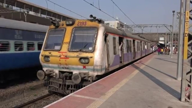 File image of a Mumbai local train.