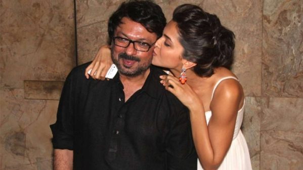 Sanjay Leela Bhansali with his muse, Deepika Padukone.