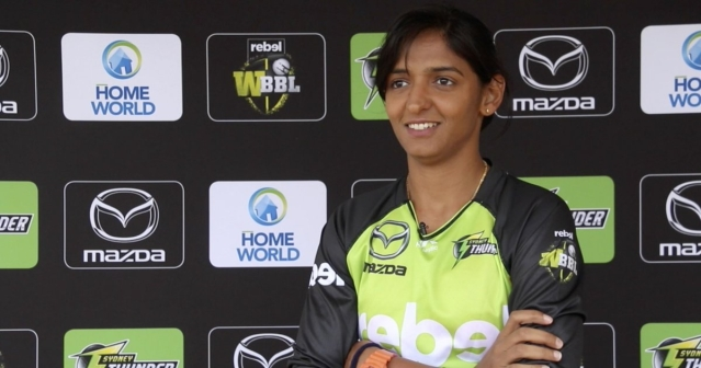 Harmanpreet is the first Indian cricketer – male or female – to sign a Big Bash League contract.