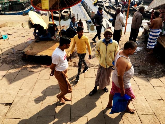 The shadows of Varanasi.