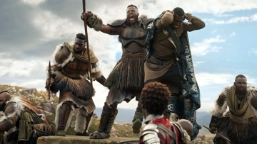 A still from <i>Black Panther. </i>