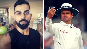 Watch: Virat Kohli Endorsing Aleem Dar's New Venture
