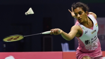 PV Sindhu lost in the women's singles final of the $350,000 India Open BWF World Tour Super 500.