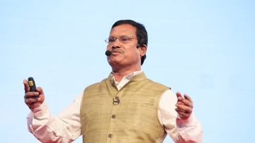 Arunachalam Muruganantham has been talking tirelessly about his work around the world.