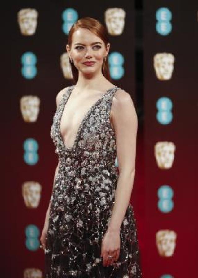 Actor Emma Stone.