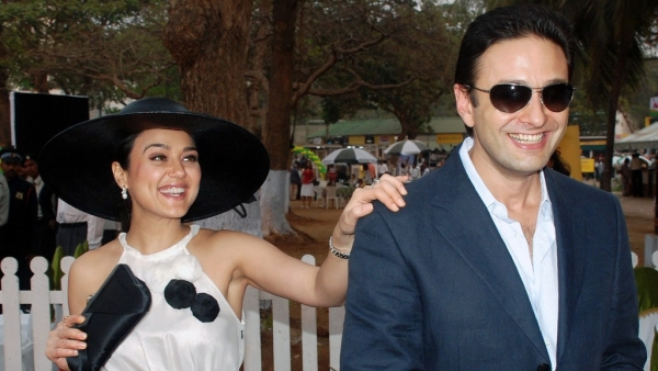 Ness Wadia and Preity Zinta in happier times.