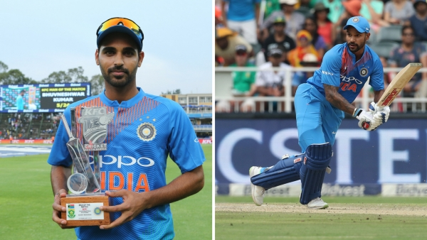 Bhuvi, Dhawan Shine as India Win 1st T20 In Jo'burg