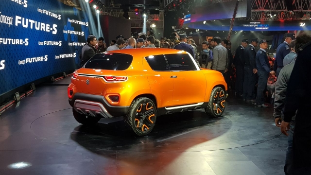 Maruti Suzuki kicked off  Auto Expo 2018 with the showcase of its crossover concept, the Future Concept S.