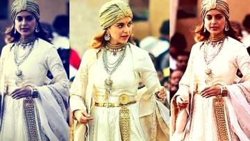 Kangana Ranaut plays Queen Laxmibai in <i>Manikarnika</i>.