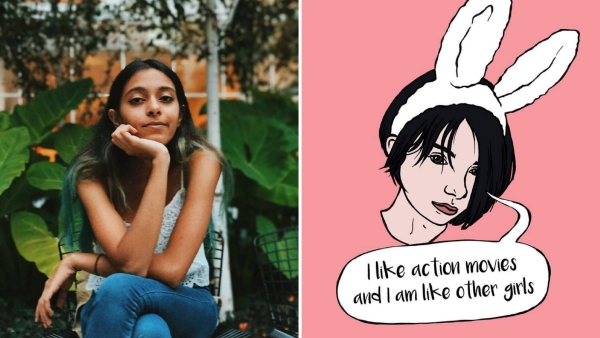 Illustrator Tara Anand is helming an Insta project called 'I'm Like Other Girls'.