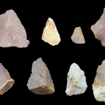 Middle Palaeolithic tools found at Attirampakkam.