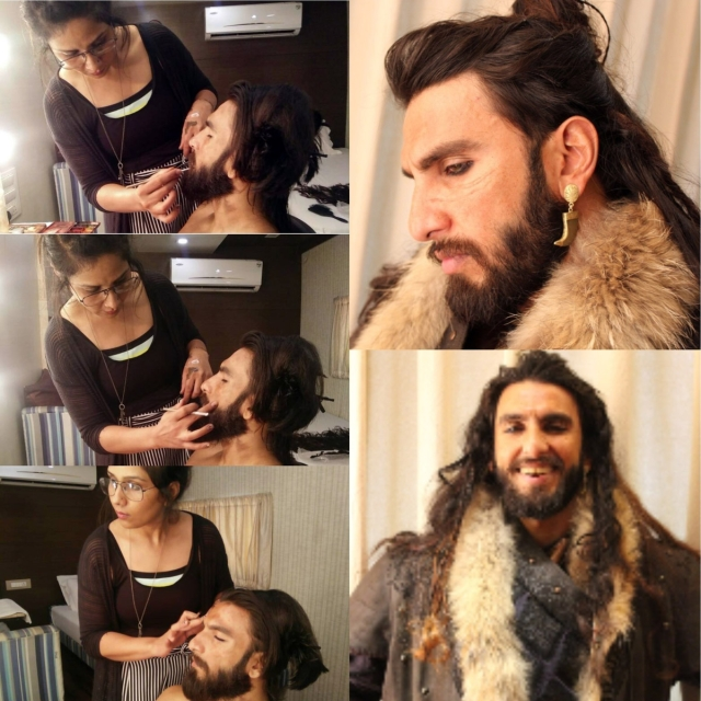 Khilji in the making.