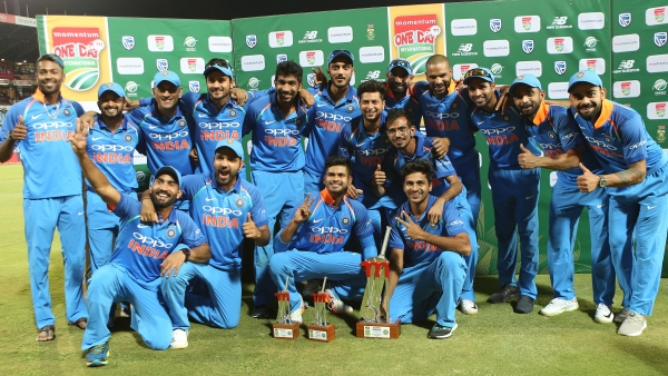 India won the six-match ODI series against South Africa 5-1.