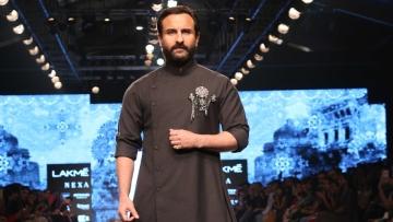Saif Ali Khan at LFW.