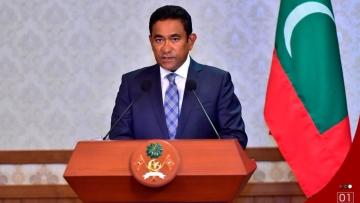 Maldivian President Abdulla Yameen.