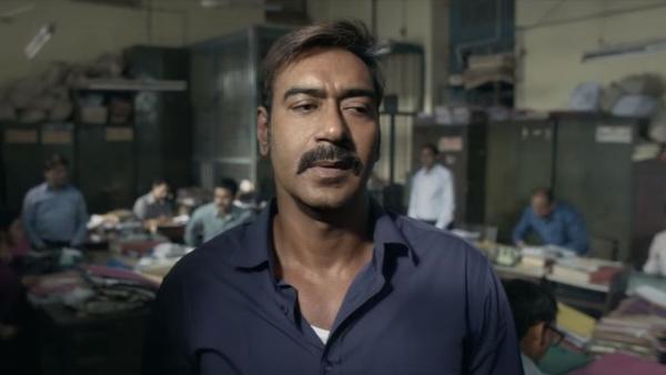 Ajay Devgn in the trailer of <i>Raid.</i>
