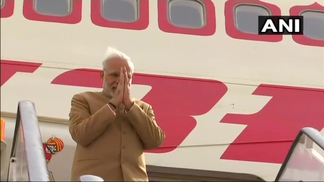PM Modi departs for Jordan.