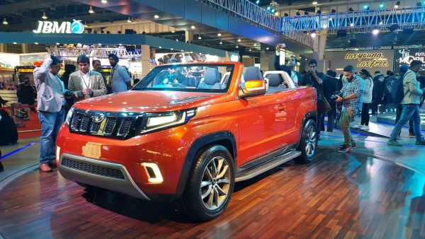 The Mahindra Stinger concept.