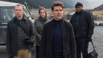 Tom Cruise in a still from <i>Mission: Impossible - Fallout</i>.