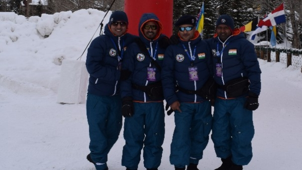 Despite all odds they continue making India proud by their stirring snow sculptures.