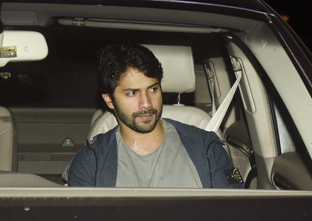 Varun Dhawan looks lost in deep thought.