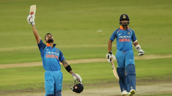 Virat Kohli during India's sixth ODI against South Africa.