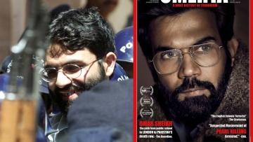 Real Vs Reel: Rajkummar Rao (right) plays Ahmed Omar Saeed Sheikh in <i>Omerta</i>.