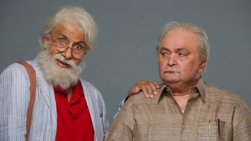 Amitabh Bachchan and Rishi Kapoor in <i>102 Not Out</i>.