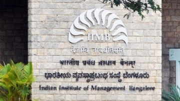 The premier B-school had sent a circular, asking students to confirm the spelling of their name in Hindi.