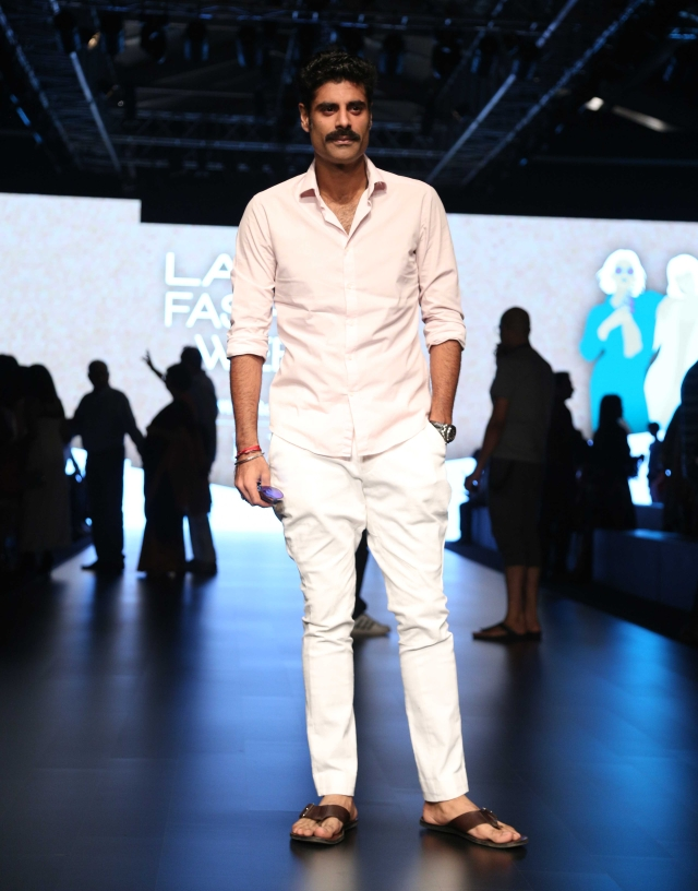 Sikander Kher on the ramp.