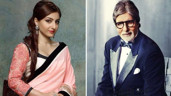 Amitabh Bachchan writes to Soha Ali Khan saying that he immensely enjoyed her book.