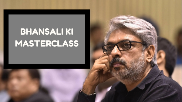 Sanjay Leela Bhansali wondering how he could make this function bigger, more colourful and melodramatic.