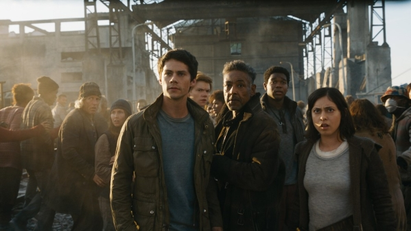 A still from <i>Maze Runner: The Death Cure</i>.