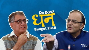 Image of Finance Minister Arun Jaitley (R) and TMC leader Derek O'Brien (L) used for representational purposes.